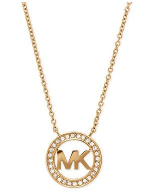 Michael Kors | Metallic Mkj4732710 Ladies Necklace | Lyst
