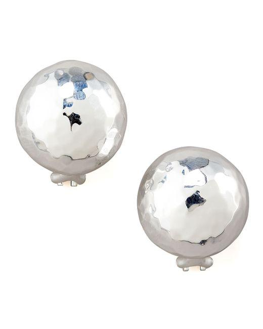 Ippolita | Metallic Sterling Silver Pinball Post Earrings | Lyst