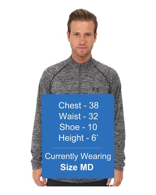 Under Armour | Gray Tech 1/4 Zip Pullover for Men | Lyst