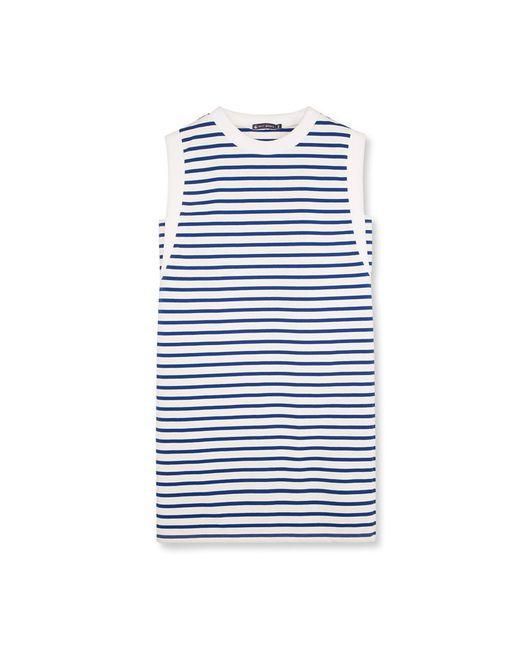 Petit Bateau   White Women's Striped Dress   Lyst