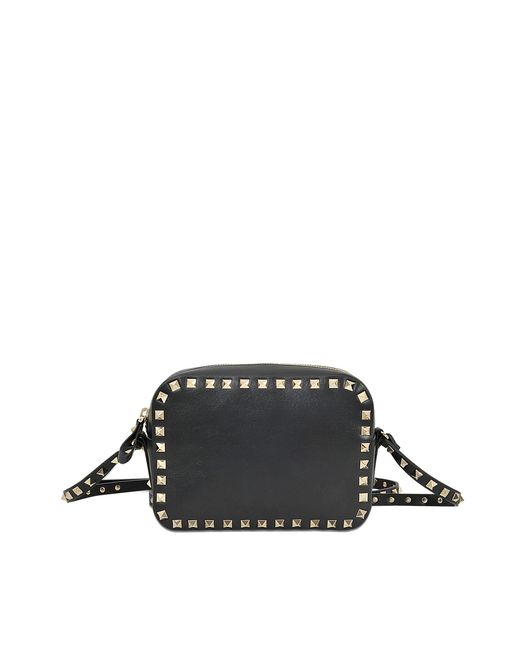Valentino Rockstud Camera Bag in Black  Lyst