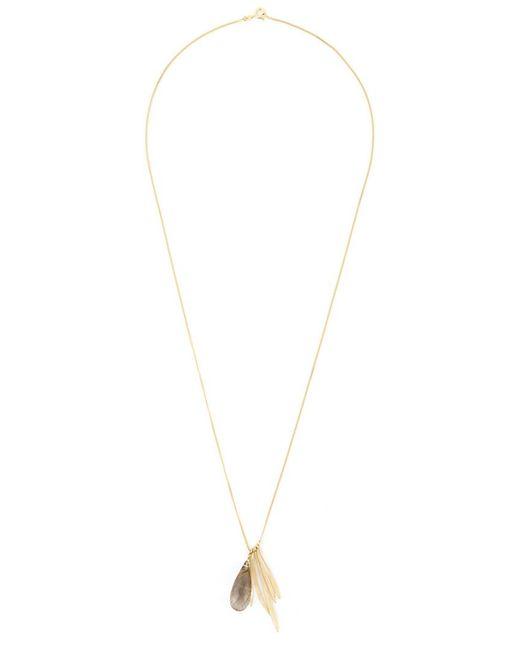 Wouters & Hendrix | Metallic 'bamboo' Rutilated Quartz Necklace | Lyst