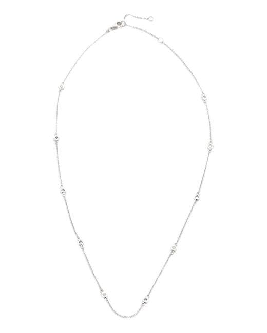 EF Collection | Metallic 10 Diamond Strand Necklace | Lyst