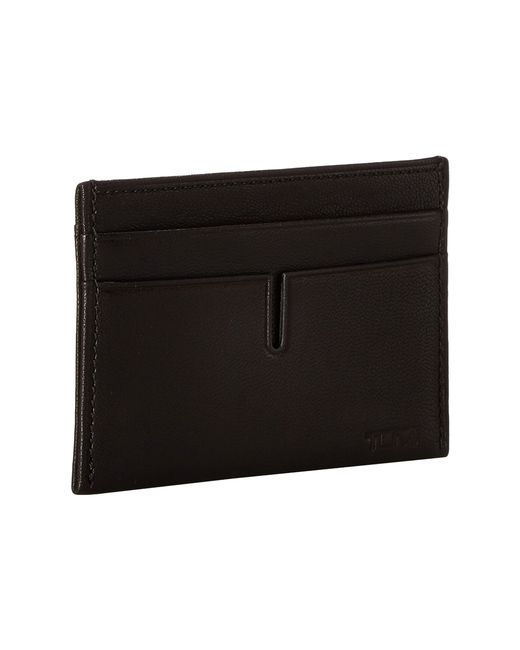 Tumi | Black Chambers Slim Card Case for Men | Lyst