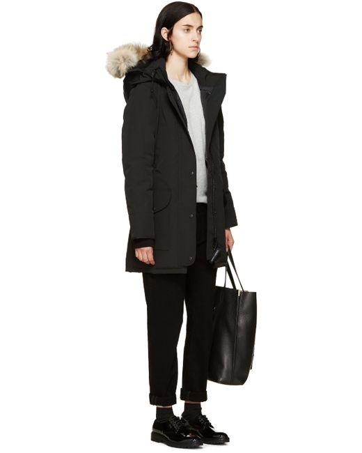Canada Goose jackets outlet cheap - Canada goose Black Trillium Parka in Black | Lyst