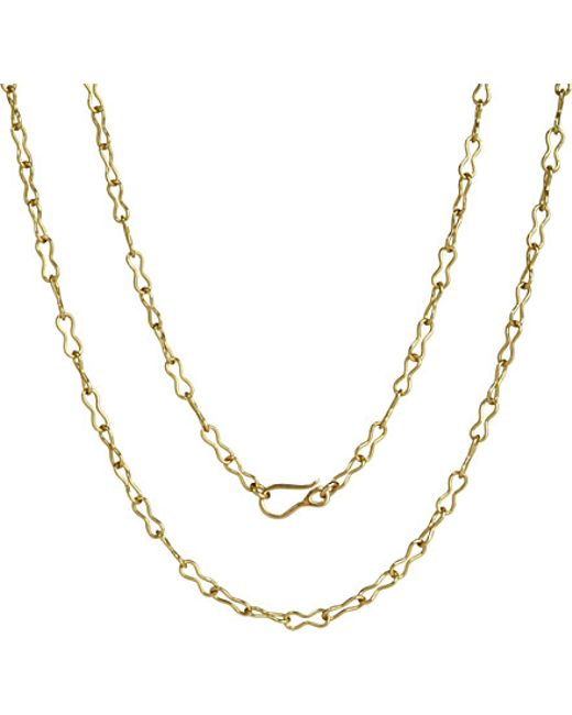 Annoushka | Mythology 18ct Yellow Gold Belcher Chain | Lyst