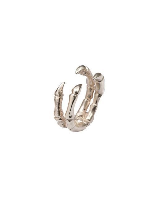 Bernard Delettrez | Metallic Parrot Claw Silver Ring | Lyst