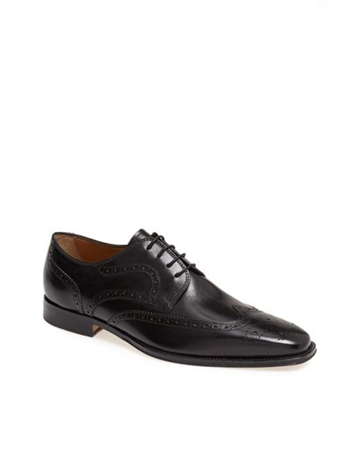 Florsheim | Black 'classico' Wingtip for Men | Lyst