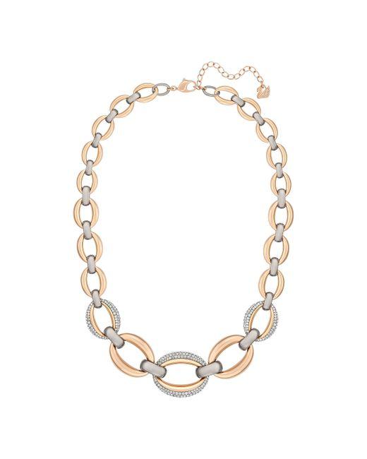 Swarovski | Metallic Circlet Collier | Lyst