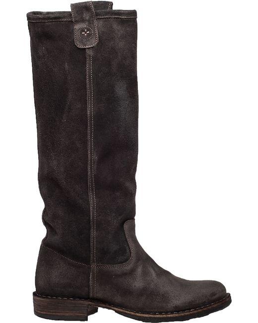 Fiorentini + Baker | Brown Eternity Effie Suede Knee-High Boots | Lyst