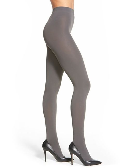 Falke | Gray 'pure Matte 100' Opaque Tights | Lyst