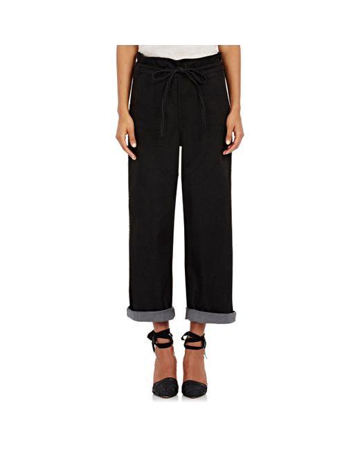 New Armani Jeans Tie Waist Women39s Sweat Pants Black