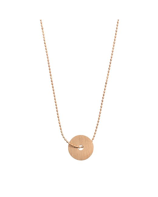 Ginette NY | Metallic Disc On Chain Necklace | Lyst