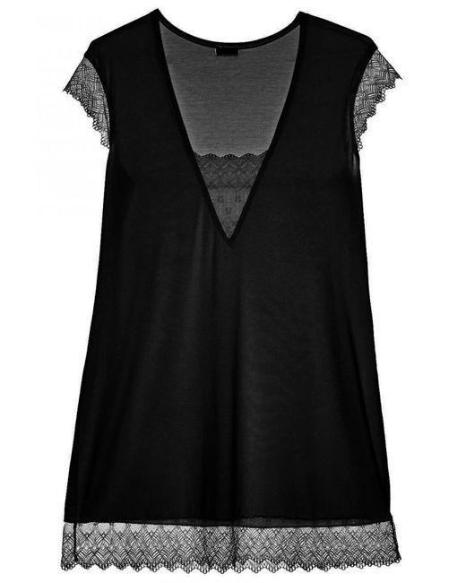 Cosabella | Black Papyrus Night Shirt | Lyst