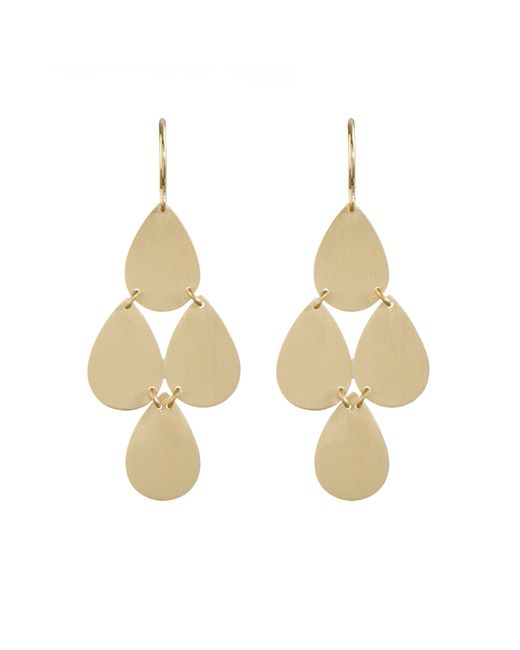 Irene Neuwirth | Metallic Yellow-Gold Chandelier Earrings | Lyst
