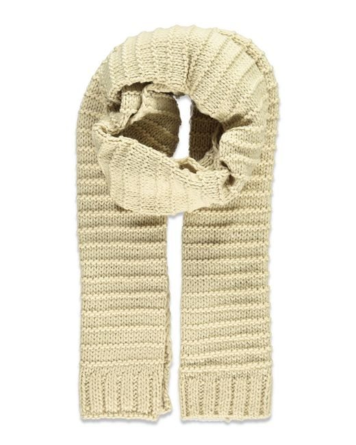 Forever 21 | Natural Textured Knit Scarf | Lyst