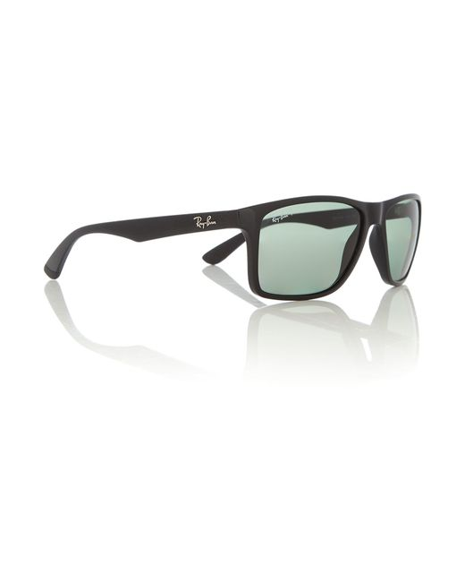 1b1f9dc53d Ray Ban Rectangle Sunglasses Black Green « Heritage Malta