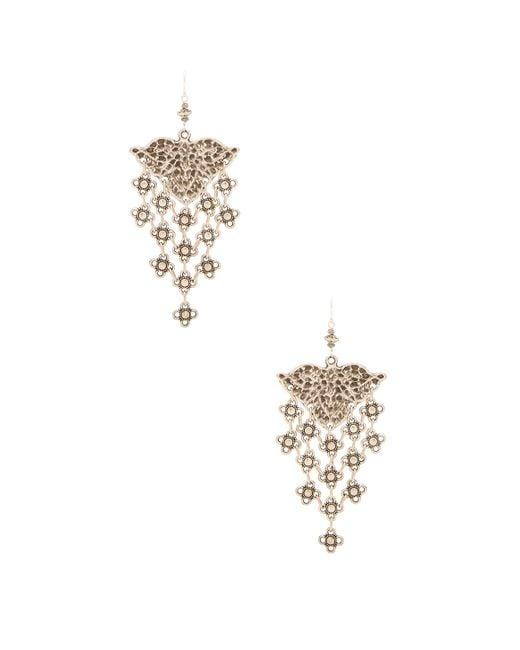 Natalie B. Jewelry   Metallic Ceren Earring   Lyst
