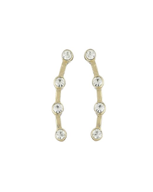 Sam Edelman | Metallic Stone Ear Crawler Earrings | Lyst
