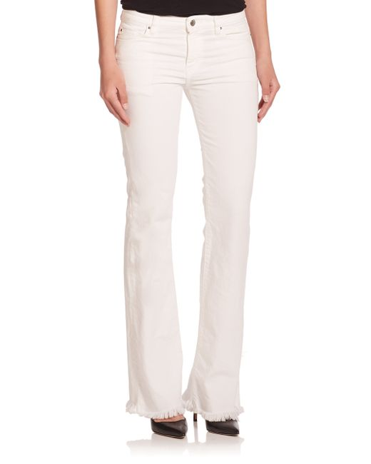 IRO | White Freddy Flared Jeans | Lyst