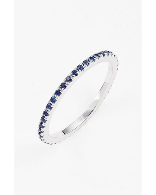 Bony Levy | Blue Gem Eternity Band Ring (limited Edition) (nordstrom Exclusive) | Lyst
