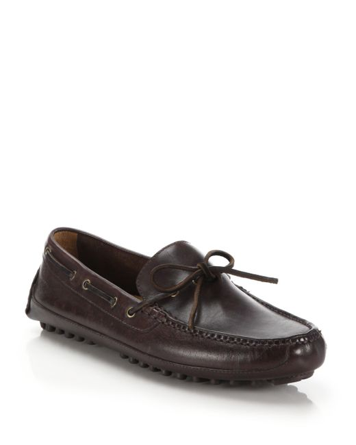 Cole Haan | Gray Grant Canoe Camp Moccasins for Men | Lyst