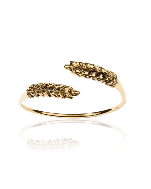 Aurelie Bidermann | Natural Wheat Bangle | Lyst