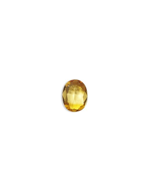 Loquet London | Metallic Birthstone Charm - November 'cherish' Citrine | Lyst