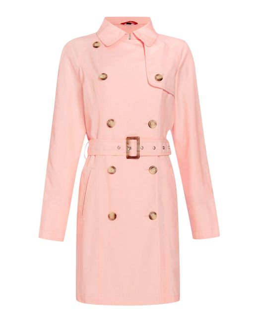 Cloud Nine | Pink Classic Trench | Lyst