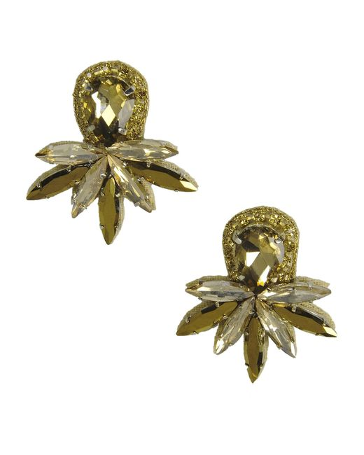 Deepa Gurnani | Metallic Earrings | Lyst