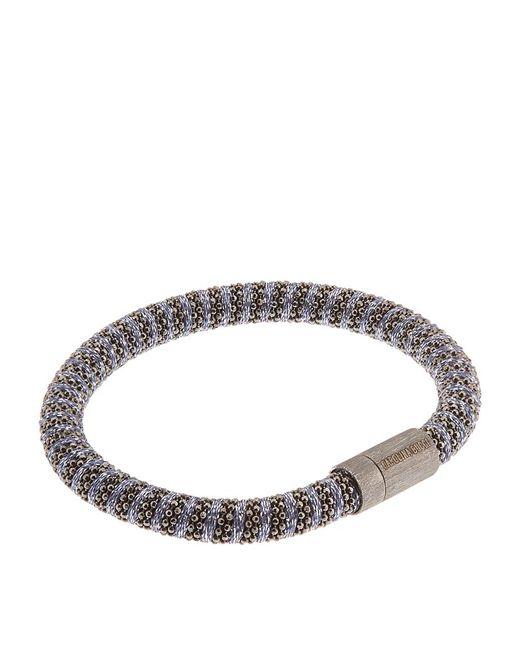 Carolina Bucci | Metallic Twister Bracelet Black Rhodium | Lyst