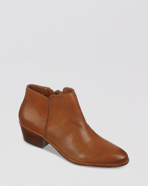 Sam Edelman - Brown Petty Suede Ankle Boots - Lyst