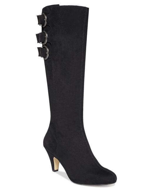 Bella Vita | Black Transit Ii Wide Calf Tall Dress Boots | Lyst