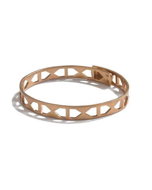 Madewell | Metallic Tracecraft Bangle Bracelet | Lyst