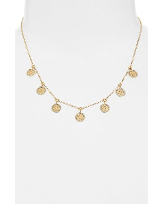 Anna beck 'gili' Charm Necklace in Metallic