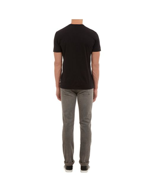 James Perse | Black Jersey Crewneck T for Men | Lyst