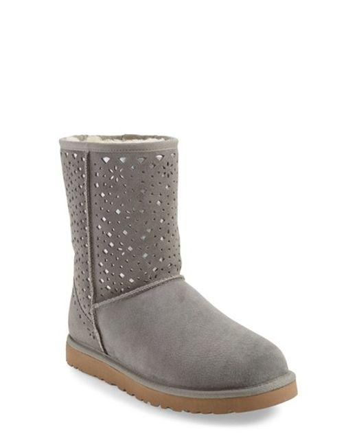 ugg short suede boots