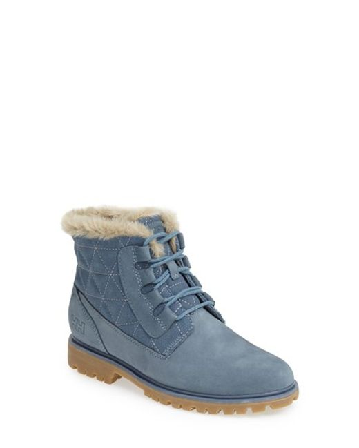 Helly Hansen | Blue 'vega' Waterproof Leather Boot | Lyst