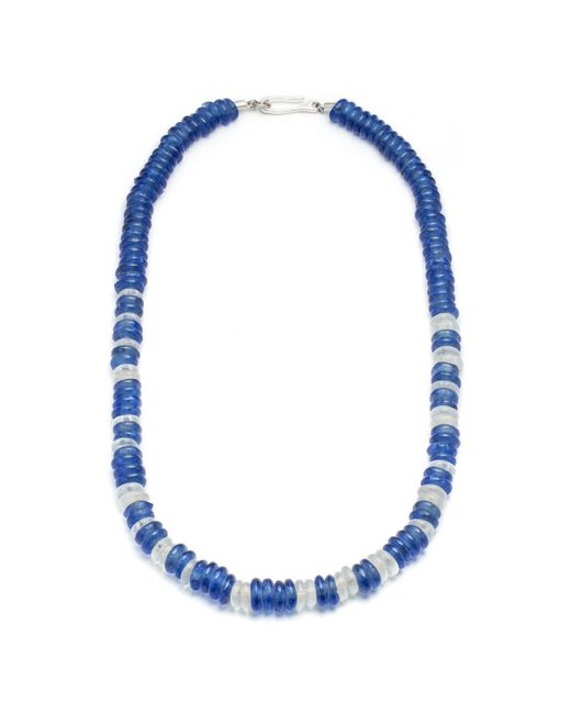 Lulu Frost   Blue George Frost Victory Morse Glass Bead Necklace   Lyst