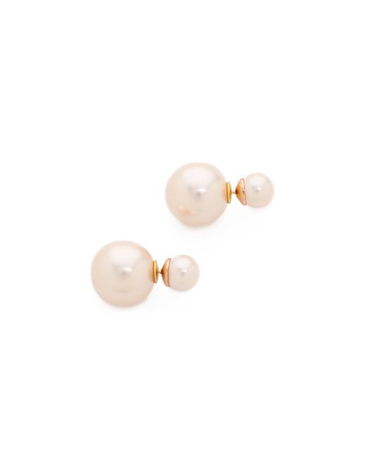 Shashi | Pink Double Earrings | Lyst