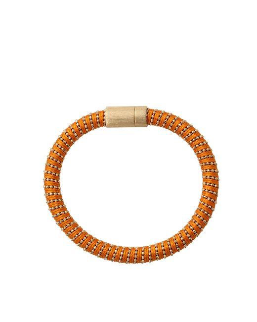 Carolina Bucci | Orange Twister Band Bracelet | Lyst