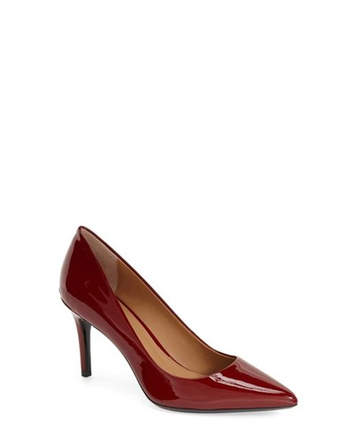 Calvin Klein | Natural Gayle Pointed-Toe Pumps | Lyst