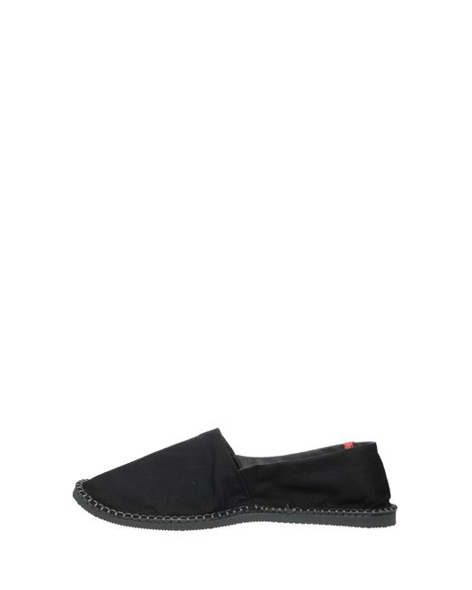 Havaianas | Black Havaianas Origine Canvas Espadrilles for Men | Lyst