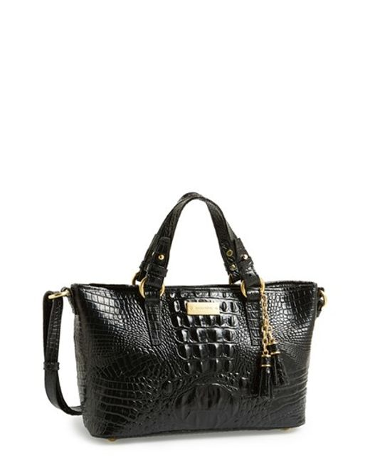 Brahmin | Black 'melbourne - Mini Asher' Tote | Lyst