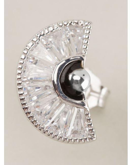 V Jewellery   Metallic 'simplicity Taper' Earrings   Lyst