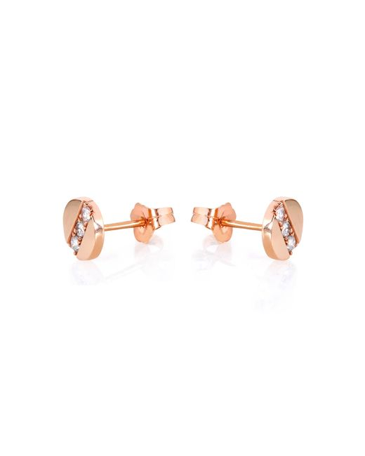 Carbon & Hyde | Pink Screwed Studs | Lyst