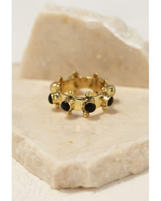 Forever 21 | Metallic Emerald Duv Indica Ring | Lyst