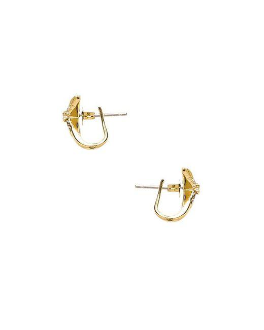 Elizabeth and James | Metallic Vida Ear Cuff | Lyst