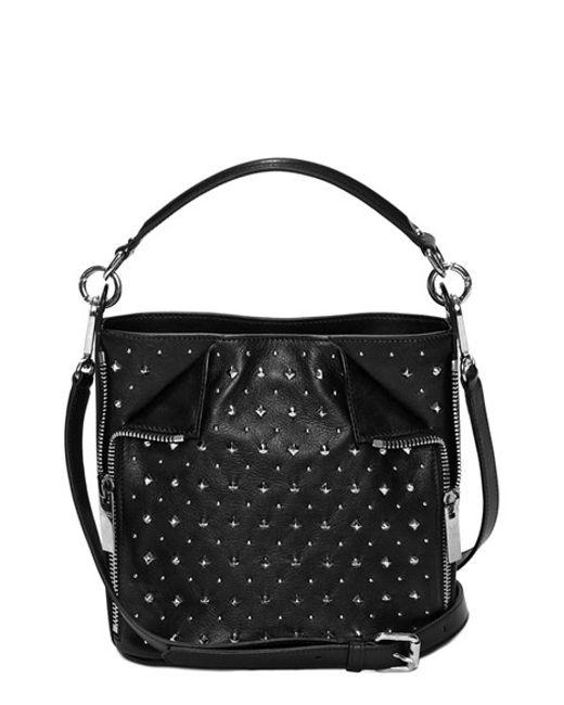 Fashion week Mcqueen alexander studded bag fall for girls