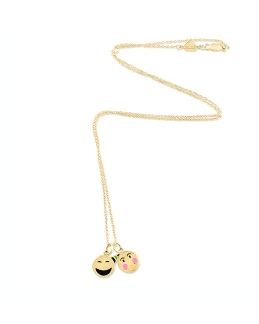 Alison Lou | Yellow 14k Small Bashful Necklace | Lyst